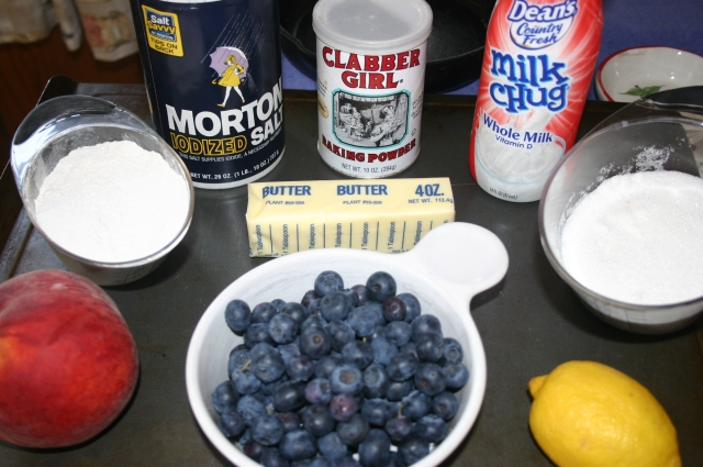Cobbler Ingredients