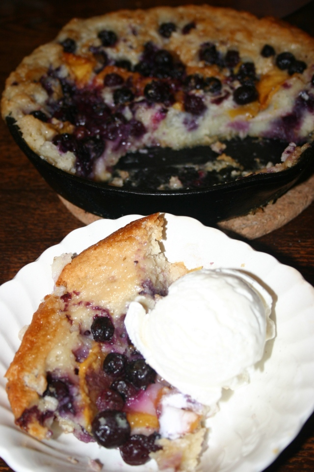 Cobbler & Ice cream