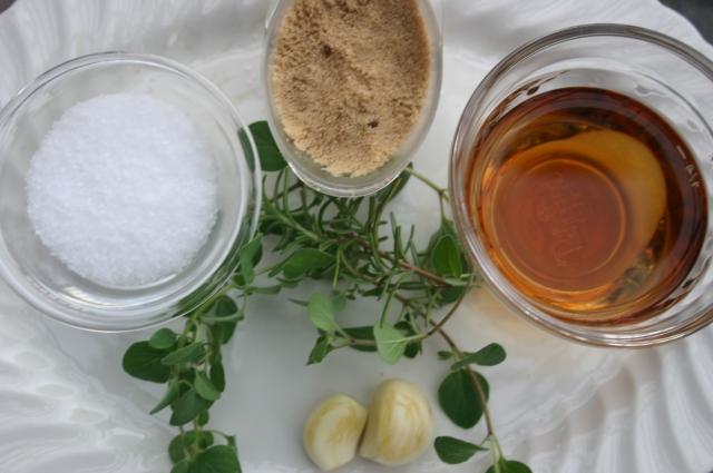 Bourbon Brine Ingredients