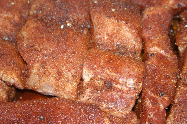 Rubbed Pork Ribs