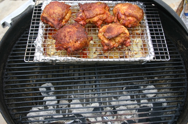 On the grill 2