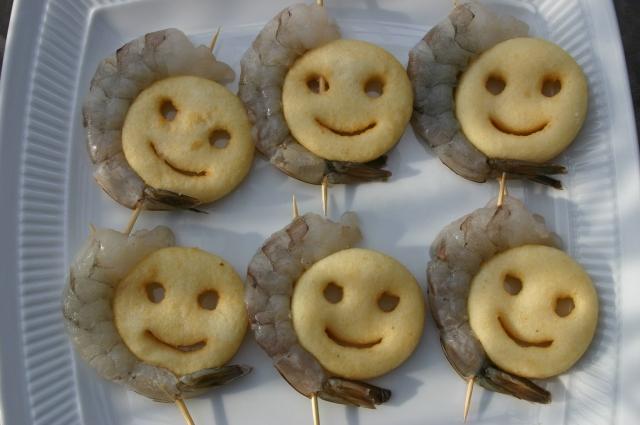 shrimp and smiles