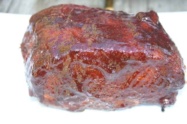 glazed rib end