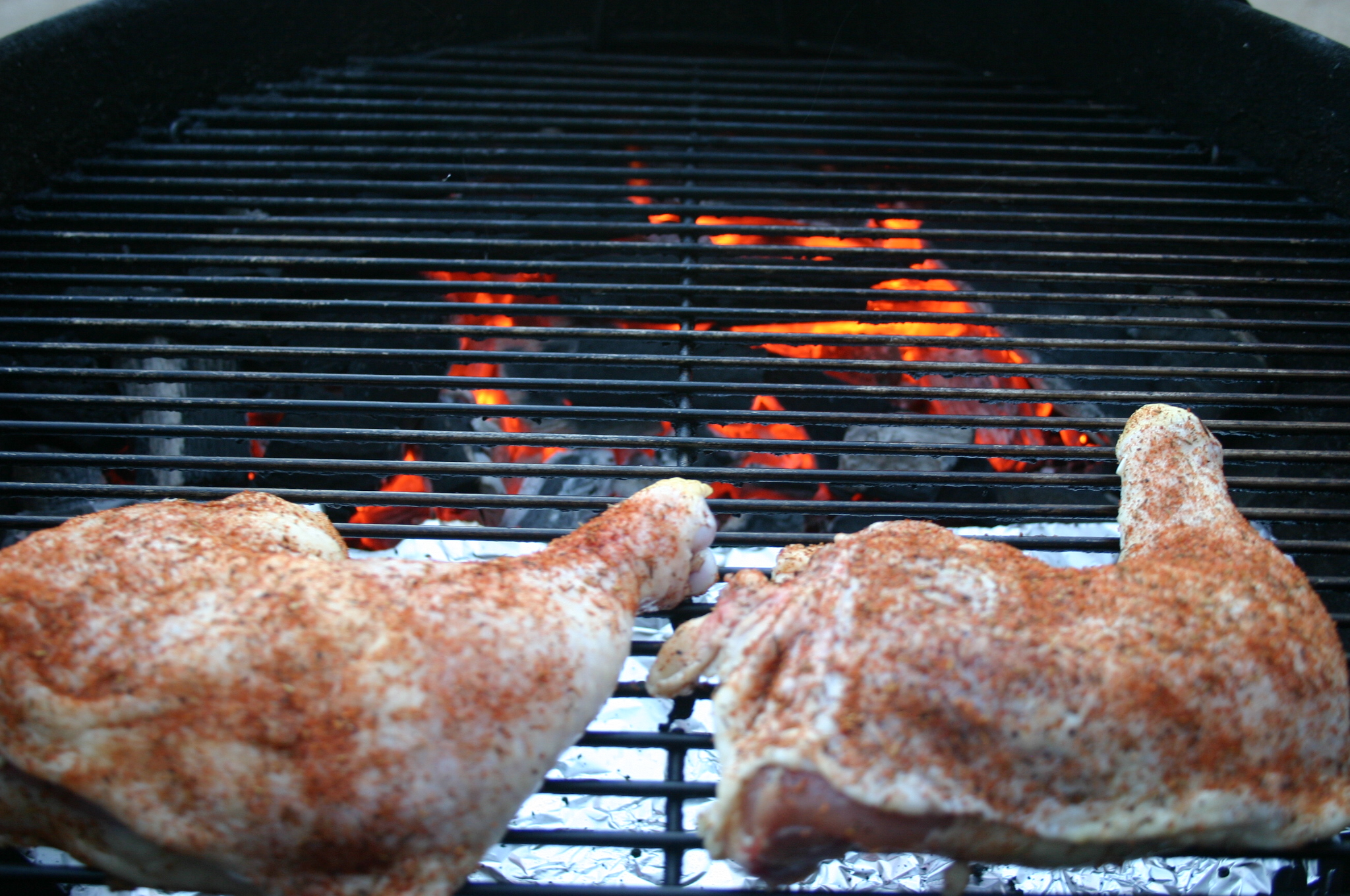 Chicken Quarters, In The Spirit of the Retro Cookout